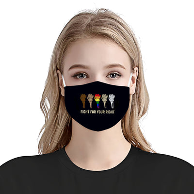 Fight for your right EZ15 0606 Face Mask - Hyperfavor