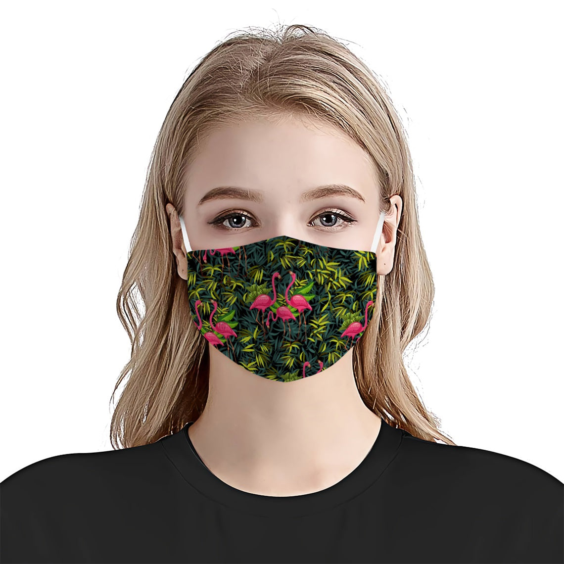 Flamingo all prints 1 EZ16 0406 Face Mask - Hyperfavor