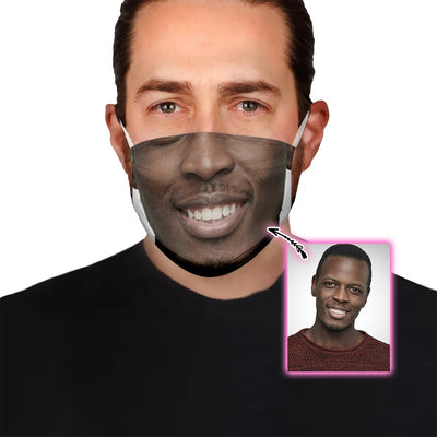 Funny Custom Face EZ10 1805 Custom Face Mask Boy - Hyperfavor