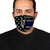 German Shepherd American Flag Police 2 EZ07 1804 Face Mask - Hyperfavor