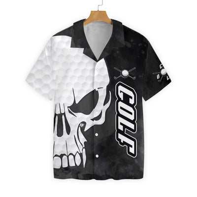 Golf And Skull EZ24 0202 Hawaiian Shirt - Hyperfavor