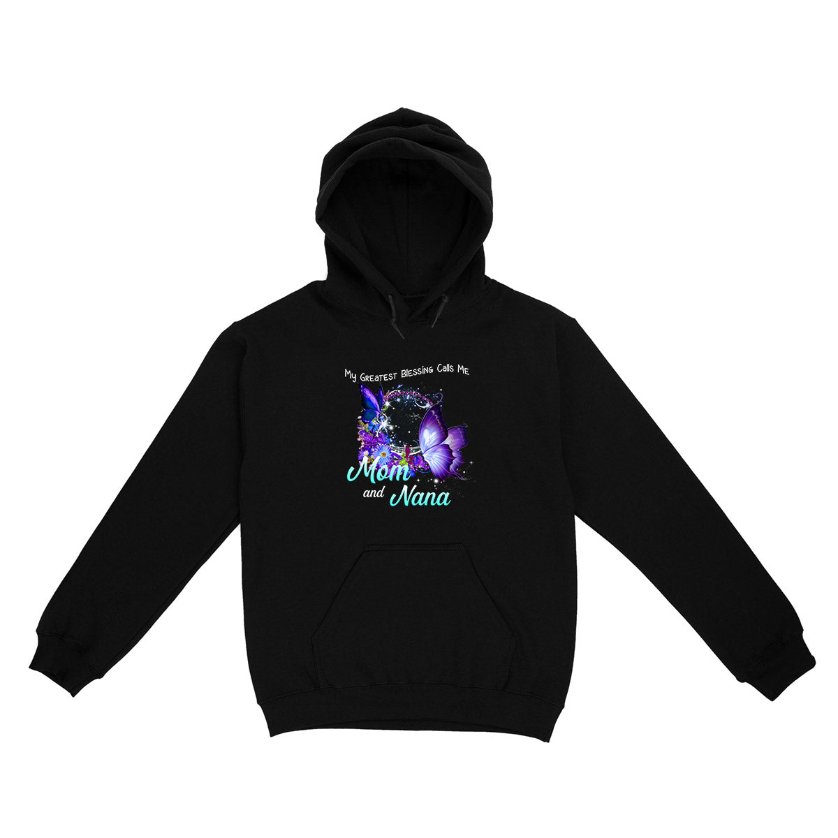The Greatest Blessing Mama Butterfly EZ10 0104 Hoodie