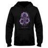 American Flag And The Cross Lupus Awareness EZ24 2912 Hoodie - Hyperfavor
