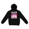 Breast Cancer Awareness Warrior Unbreakable Retro 02 EZ01 Hoodie - Hyperfavor