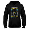 Down Syndrome Born To Stand Out Halloween EZ12 1809 Hoodie - Hyperfavor