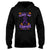 Halloween Nothing Can Scare Me Im A Lupus Warrior EZ20 0709 Hoodie