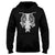 Halloween Rib Cage Skeleton With Bat EZ20 1009 Hoodie
