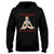 Ho Ho Ommm For a balanced holiday EZ21 0710 Hoodie