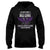In Our Family No One Fights Lupus Alone EZ12 1809 Hoodie - Hyperfavor