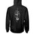 Straight Moon Phase Snake Witch Wicca EZ20 1010 Hoodie