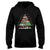 Teacher Christmas Tree EZ14 0610 Hoodie