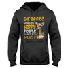 Giraffe Make Me Happy EZ02 1009 Hoodie - Hyperfavor