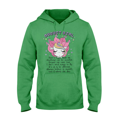 Unicorn August Girl EZ06 0709 Hoodie - Hyperfavor