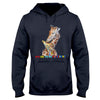 Autism It's Ok To Be Different Giraffe EZ02 1009 Hoodie - Hyperfavor