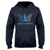 Diabetes Awareness Butterfly EZ03 0709 Hoodie - Hyperfavor