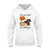 Autumn leaves Pumpkin Dachshund EZ03 1708 Hoodie