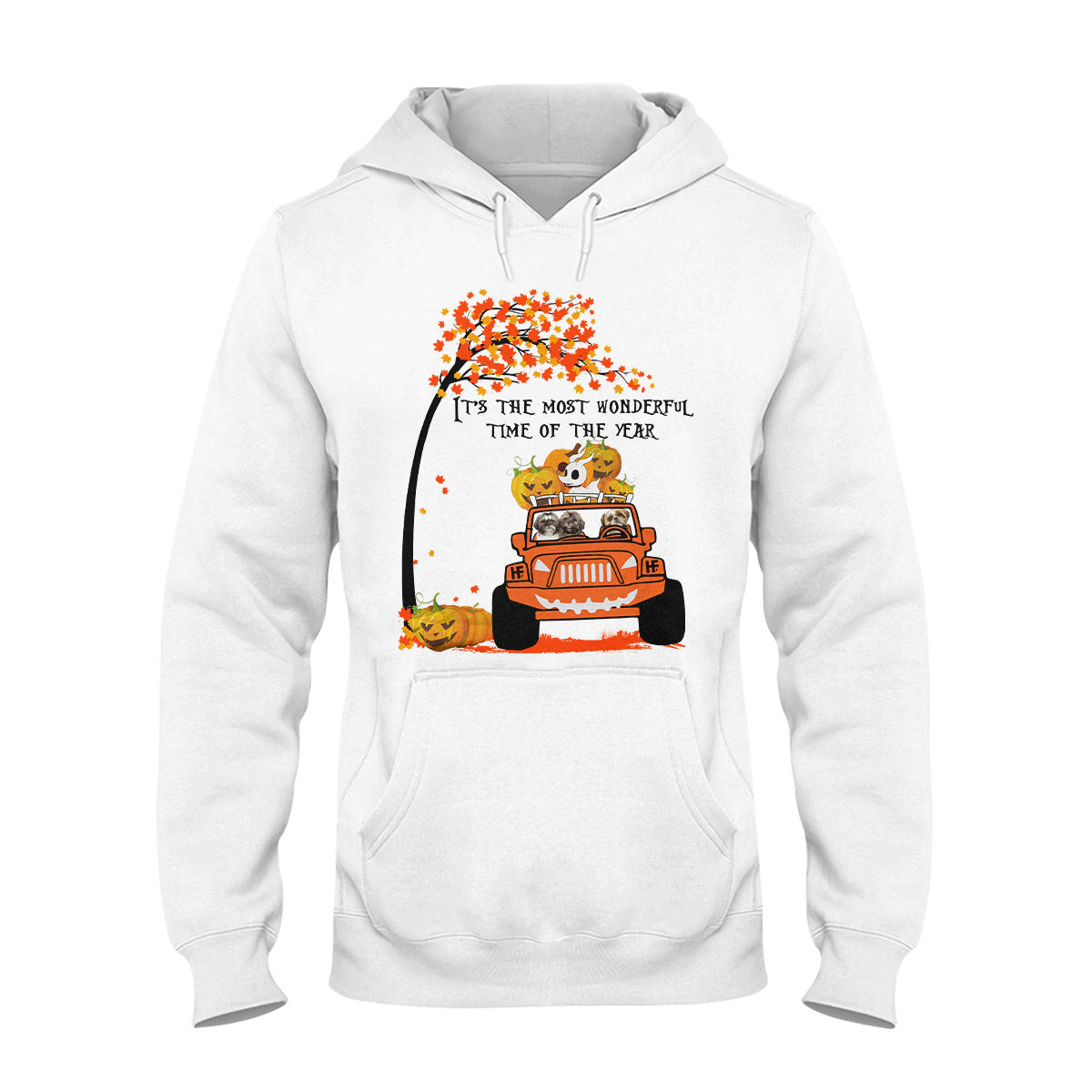 Family Shih Tzu It's The Most Wonderful Time Of The Year EZ16 0509 Hoodie