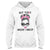 Not Today Breast Cancer Awareness EZ24 3112 Hoodie - Hyperfavor