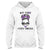 Not Today Cystic Fibrosis Awareness EZ24 3012 Hoodie - Hyperfavor