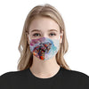 Horses Painting EZ08 0606 Face Mask - Hyperfavor