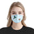 Hummingbird Art Couple EZ10 1604 Face Mask Blue2 - Hyperfavor