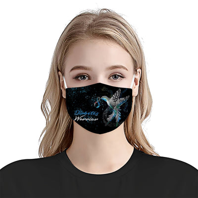 Hummingbird Diabetes EZ10 1704 Face Mask 2 - Hyperfavor