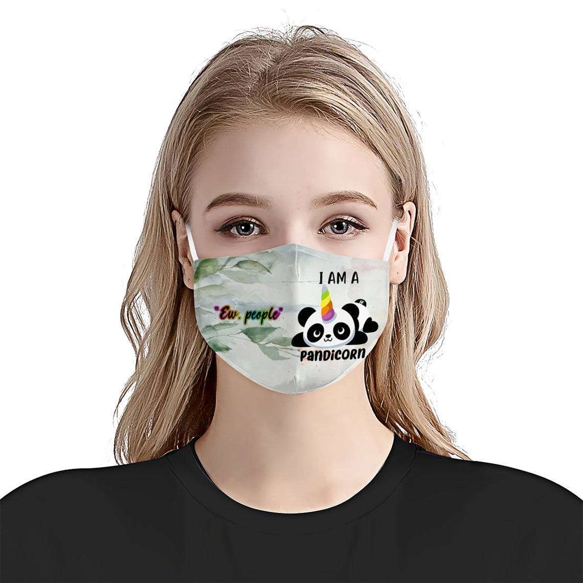 I Am A Pandanicorn EZ17 0506 Face Mask - Hyperfavor