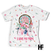 I Love Mom Dreamcatcher Unicorn EZ08 1303 All Over T-shirt - Hyperfavor