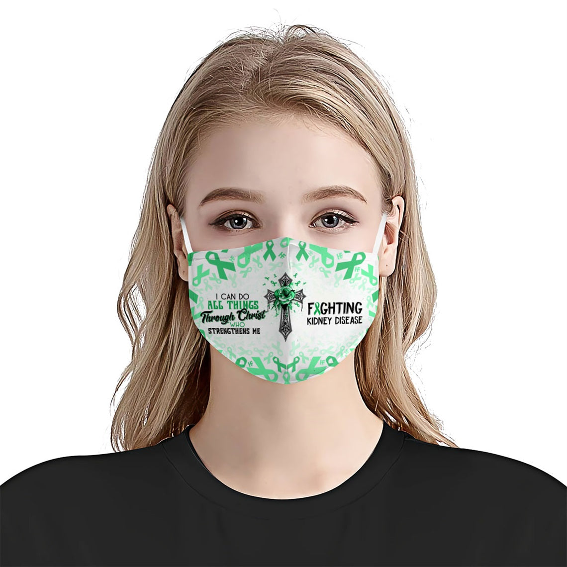 I can do all things fighting Kidney Disease EZ16 0606 Face Mask - Hyperfavor