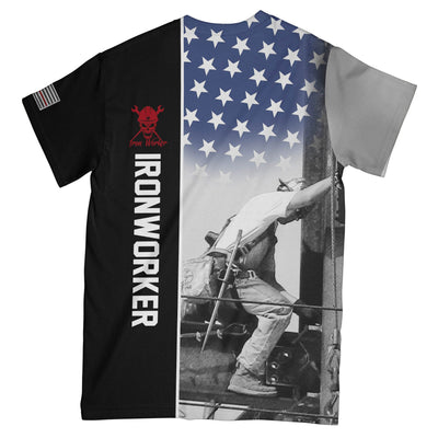 IRONWORKER 3D EZ16 2008 All Over T-Shirt - Hyperfavor