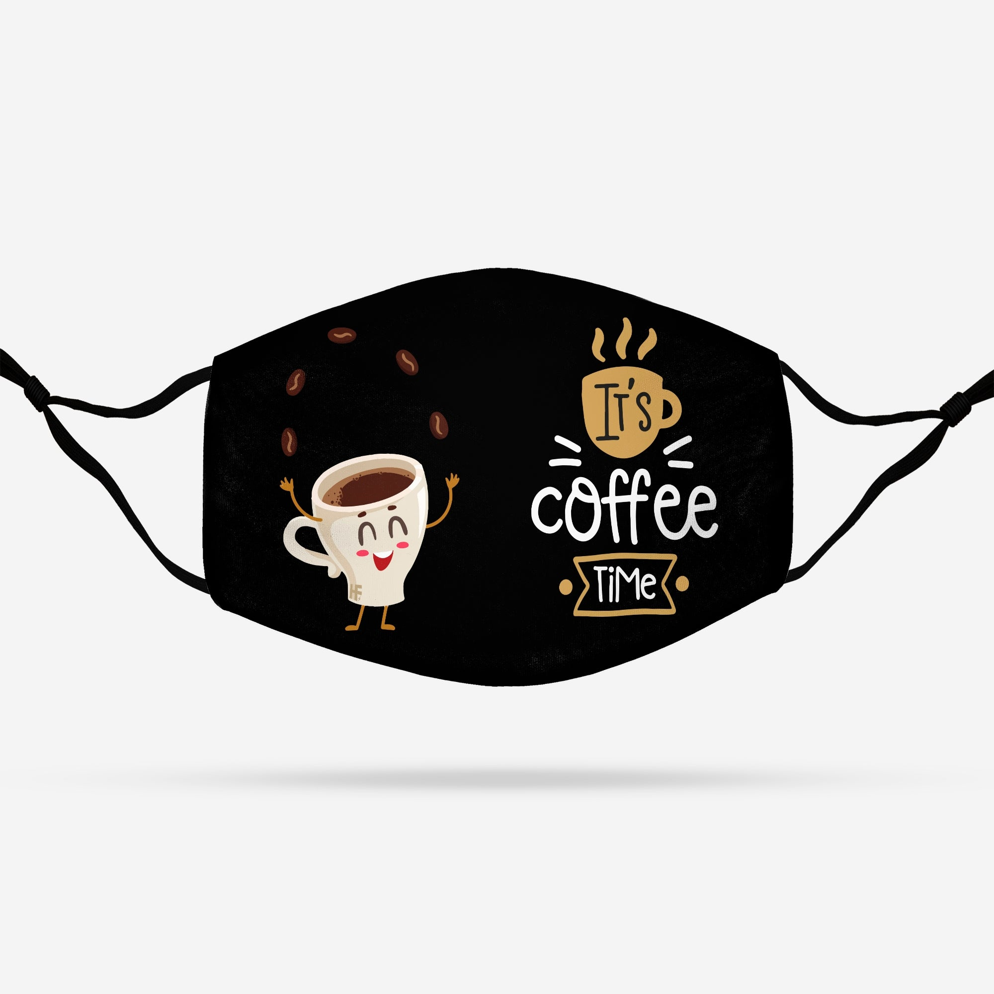 It's Coffee Time EZ14 1108 Face Mask - Hyperfavor