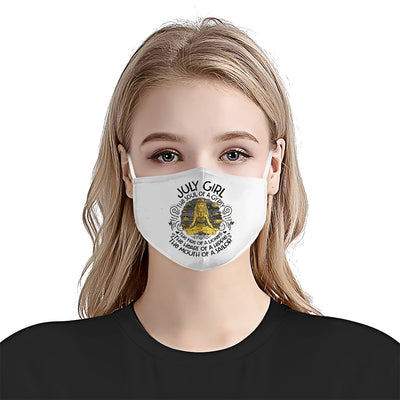 July Girl Soul Of Gypsy EZ01 1405 Face Mask - Hyperfavor