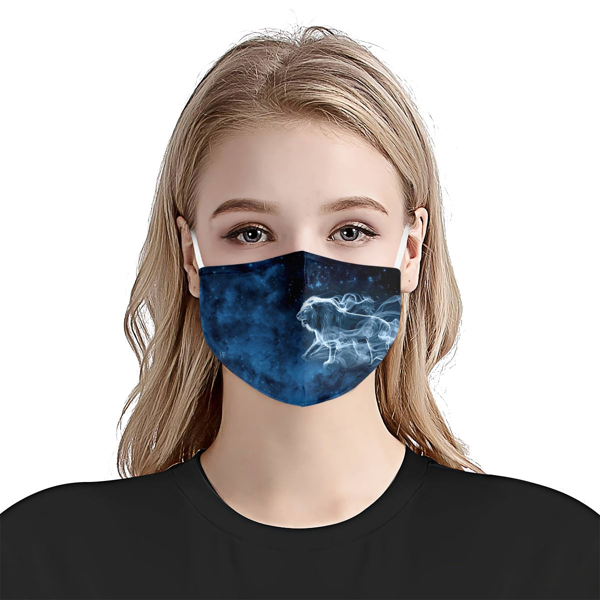 Lion Patronus Galaxy EZ07 1105 Face Mask - Hyperfavor