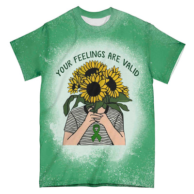 Mental Health Awareness Your Feelings EZ01 3003 All Over T-shirt - Hyperfavor