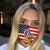 Merica Beagle 4th Of July EZ06 1305 Face Mask - Hyperfavor