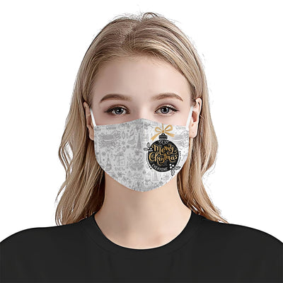 Merry Christmas Ball EZ24 1110 Face Mask - Hyperfavor