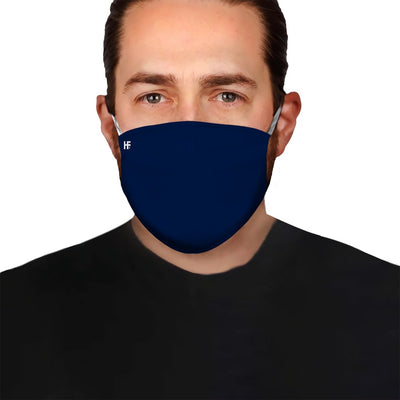 Premium Monotone Version Navy EZ09 1304 Face Mask - Hyperfavor