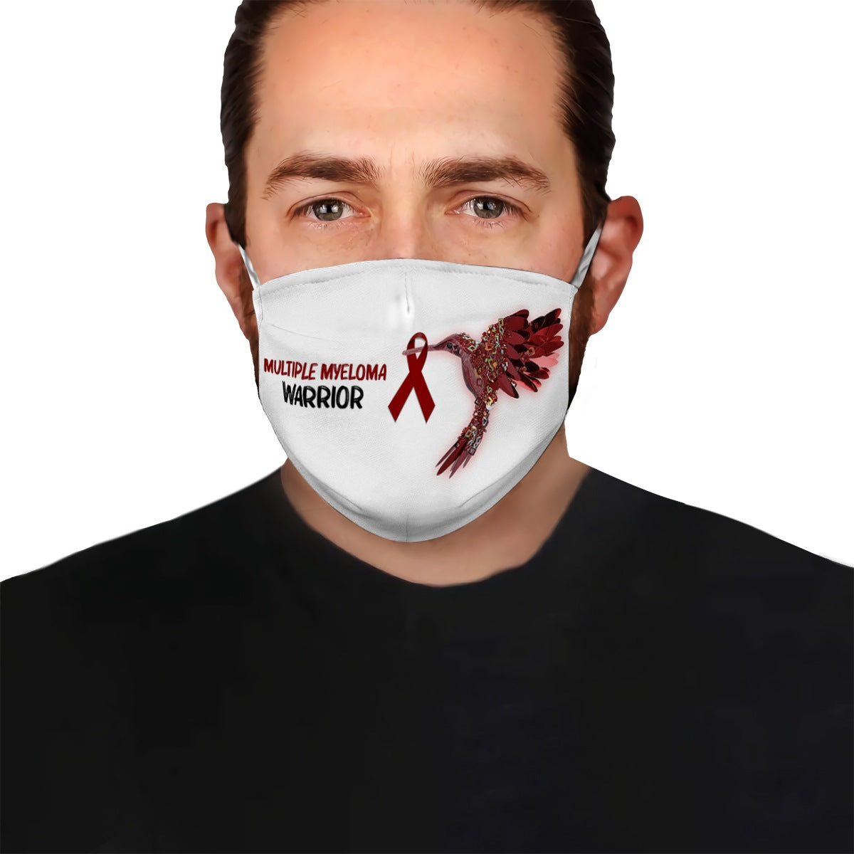 Multiple Myeloma Hummingbird EZ10 1704 Face Mask White - Hyperfavor