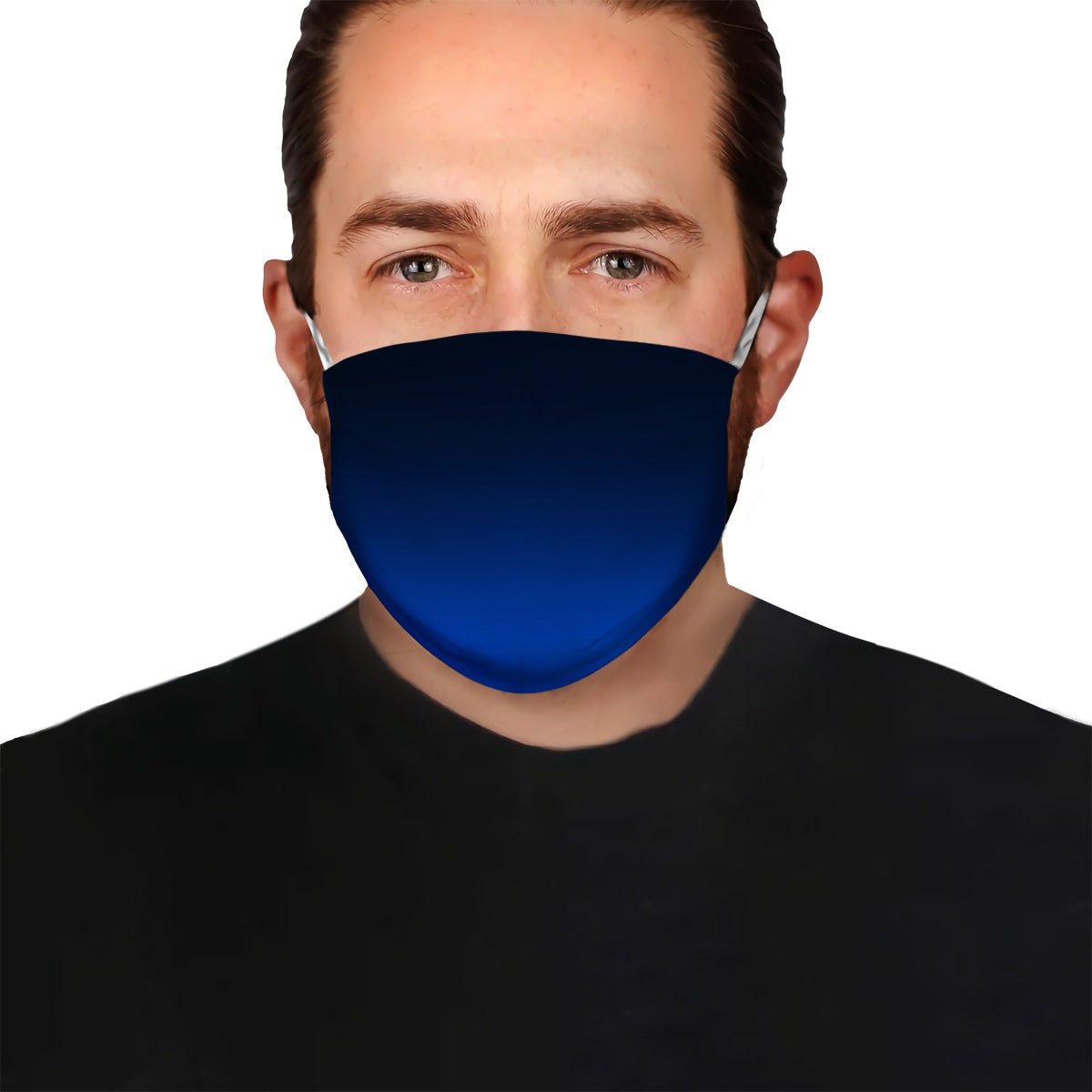 Navy Ombre EZ08 2004 Face Mask - Hyperfavor