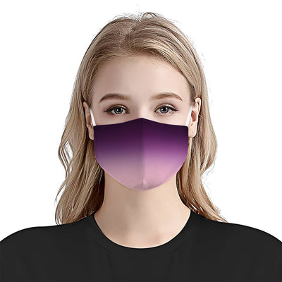 Ombre Purple EZ08 1604 Face Mask - Hyperfavor