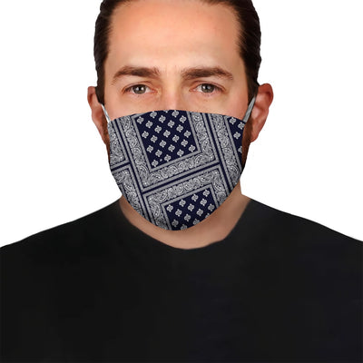 Paisley Bandana Collection EZ05 2605 Face Mask 43 - Hyperfavor