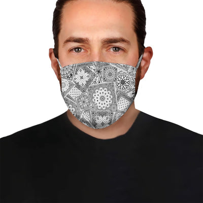 Paisley Bandana Collection EZ05 2605 Face Mask 59 - Hyperfavor