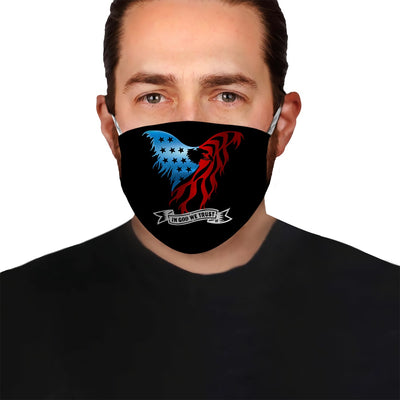 Premium Patriot American Eagle 4th of July Version 04 EZ09 1404 Face Mask - Hyperfavor