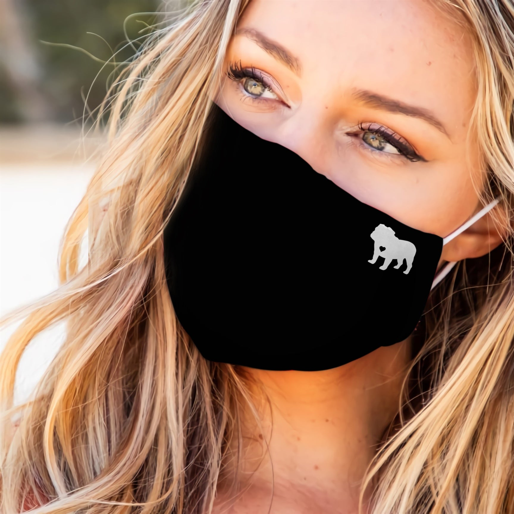 Bulldog Heart EZ07 2707 Face Mask - Hyperfavor