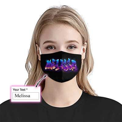 Personalized Guess My Name EZ10 3007 Custom Face Mask - Hyperfavor