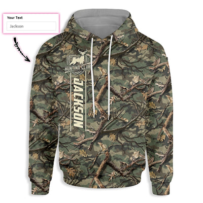 Personalized Dried Twigs Camouflage Hunting EZ20 0801 Custom All Over Print Hoodie - Hyperfavor