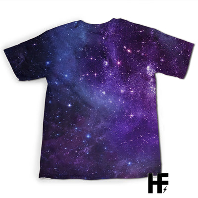 Purple Triple Moon Wicca EZ09 0903 All Over T-Shirt - Hyperfavor
