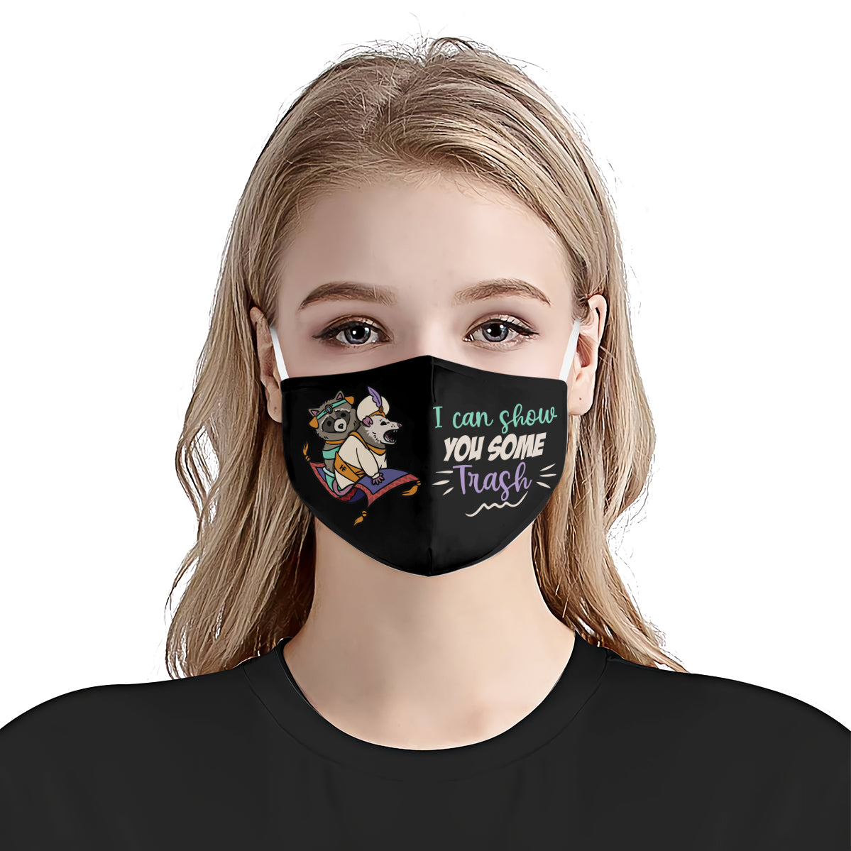Raccoon I Can Show You Some Trash EZ07 2307 Face Mask - Hyperfavor