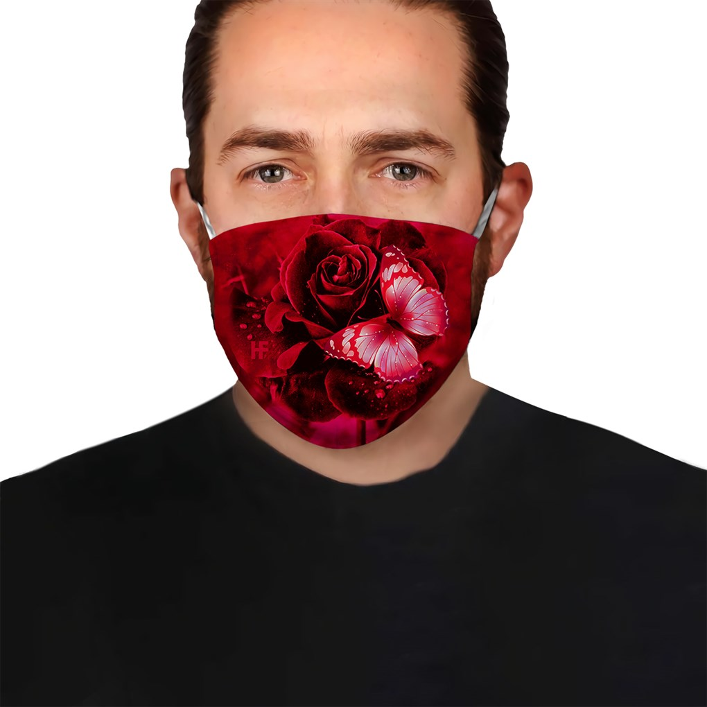 Rose Butterfly Ver 3 EZ10 2004 Face Mask - Hyperfavor
