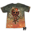 Skull Bee EZ10 1803 All Over T-Shirt - Hyperfavor